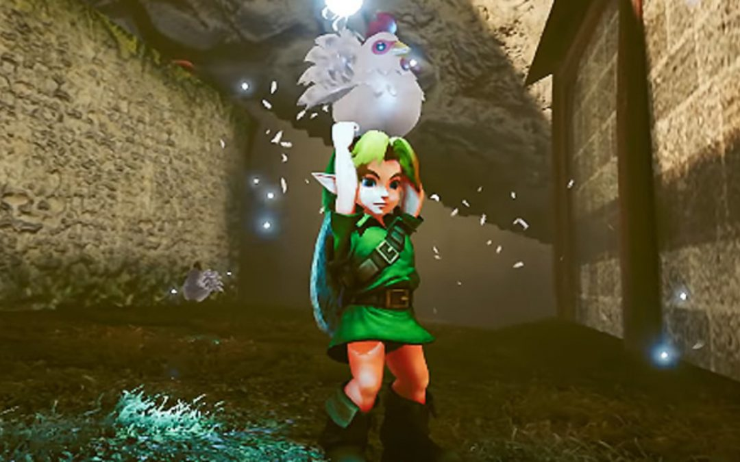 The Legend Of Zelda: Ocarina Of Time Unreal Engine 4 Descargar